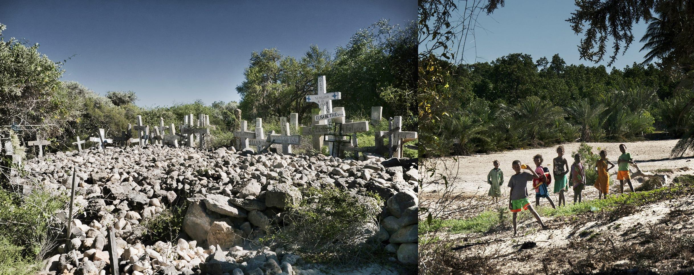 Cruces y piedras